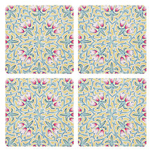 Buy Liberty Fabrics & John Lewis Lodden Flower Coasters, Set of 4 Online at johnlewis.com