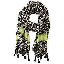 Buy Betty Barclay Long Animal Print Scarf, Beige/Black Online at johnlewis.com
