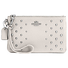 Buy Coach Ombre Rivets Leather Wristlet Purse Online at johnlewis.com