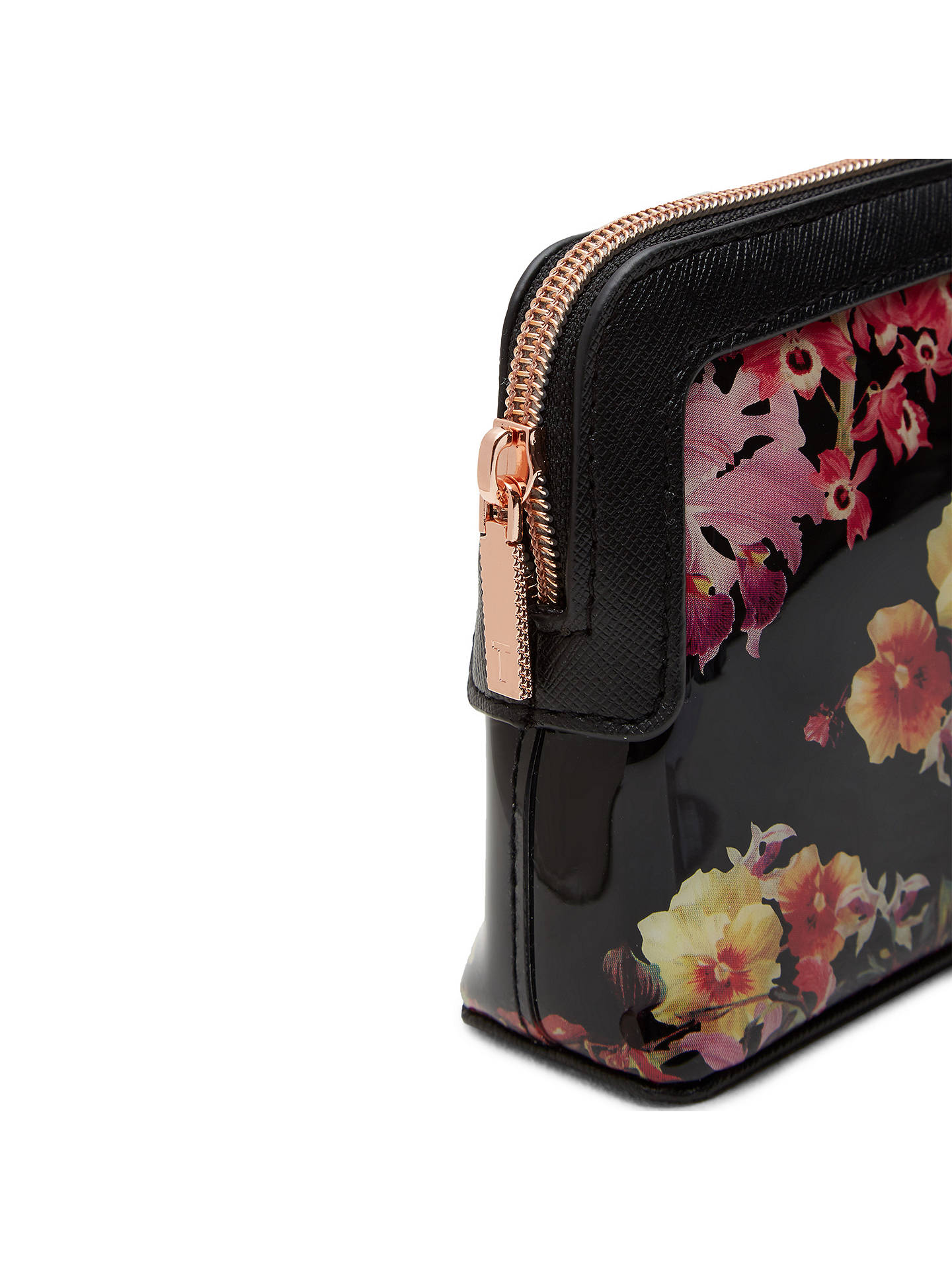 Ted Baker Dannika Lost Gardens Makeup Bag, Black