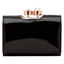 Buy Ted Baker Alix Leather Patent Purse Online at johnlewis.com