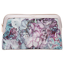 Buy Ted Baker Corren Illuminated Bloom Large Wash Bag, Purple Online at johnlewis.com