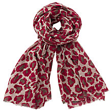Buy Becksondergaard Blandan Scarf, Beetroot Online at johnlewis.com