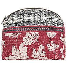 Buy Becksondergaard Jean Wash Bag, Beetroot Online at johnlewis.com