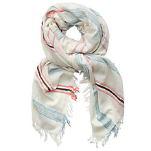 Buy Becksondergaard Trion Scarf, Nutmeg Online at johnlewis.com