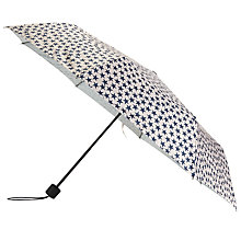 Buy Becksondergaard Star Print Umbrella, Nude/Shadow Online at johnlewis.com