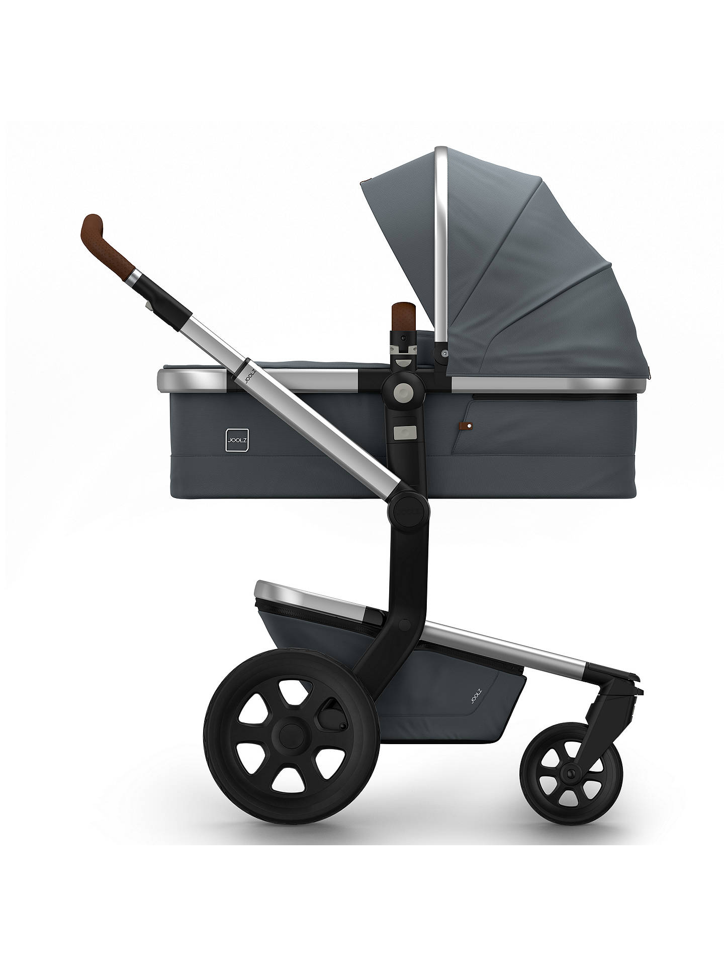 BuyJoolz Day2 Earth Pushchair with Carrycot, Hippo Grey Online at johnlewis.com
