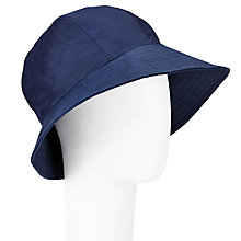 Buy John Lewis Waxed Trench Hat, Navy Online at johnlewis.com