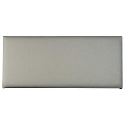 John Lewis Lara Strut Headboard, King Size, Canvas Steel