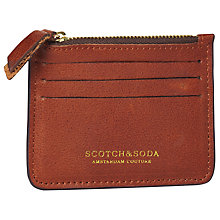 Buy Scotch & Soda Leather Credit Card Holder Online at johnlewis.com