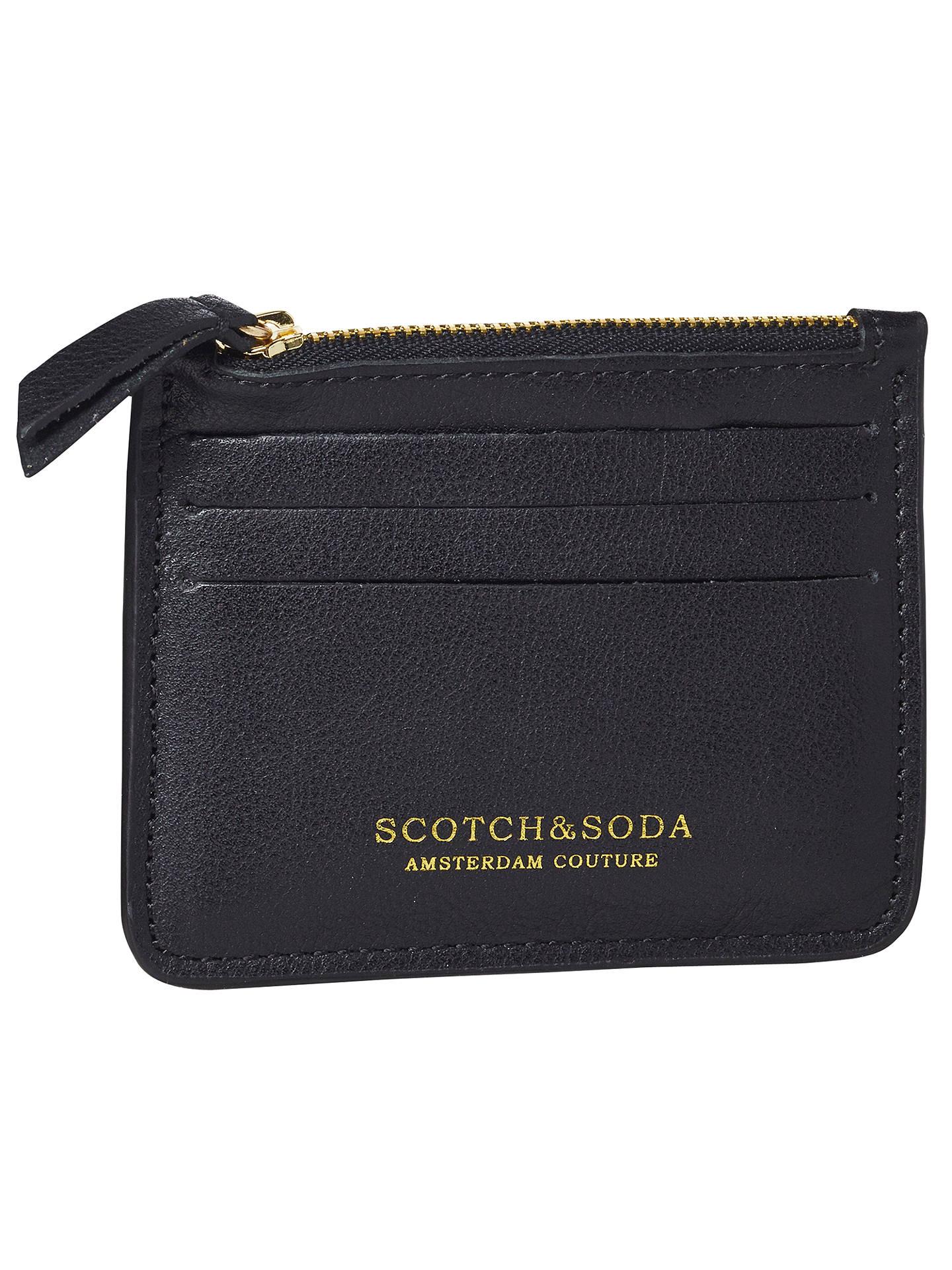 5e27c3928513c2 Scotch   Soda Leather Credit Card Holder at John Lewis   Partners