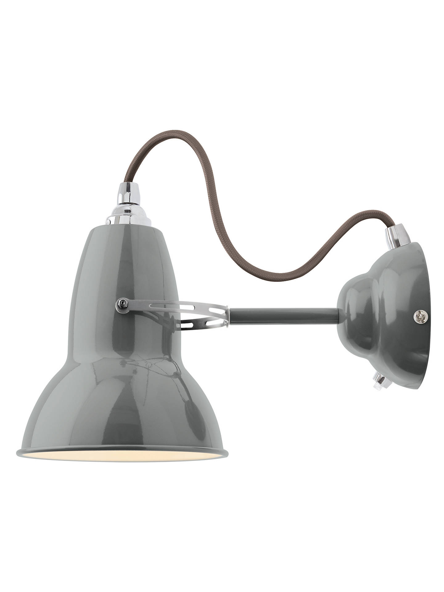 Buy Anglepoise Original 1227 Wall Light, Dove Grey Online at johnlewis.com