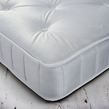 Buy John Lewis The Basics Collection Comfort No Turn Open Spring Mattress, Medium, Single Online at johnlewis.com