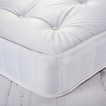 Buy John Lewis The Basics Collection Comfort Plus No Turn Open Spring Mattress, Medium, Single Online at johnlewis.com