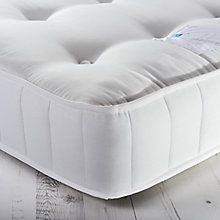 Buy little home at John Lewis Hampshire Wool Pocket Spring Mattress, Medium, Single Online at johnlewis.com