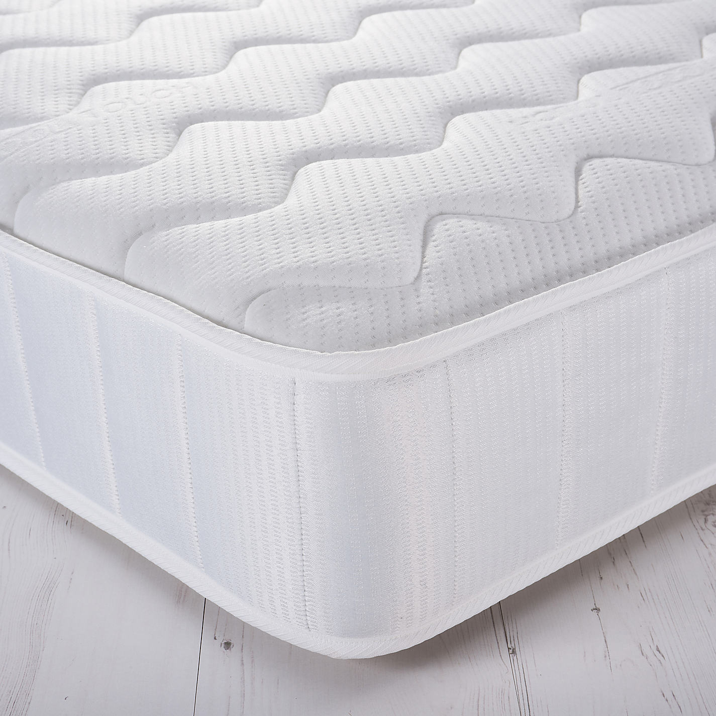 John Lewis Essentials Collection Response 920 Comfort Open Spring Mattress Medium Double Online