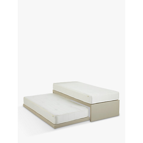 Buy John Lewis Savoy Pocket and Open Spring Trundle Guest Bed, Small Single Online at johnlewis.com