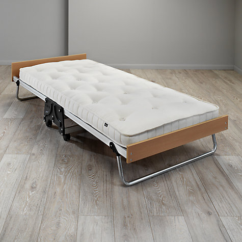 buy jay be folding bed with natural pocket sprung mattress. Black Bedroom Furniture Sets. Home Design Ideas