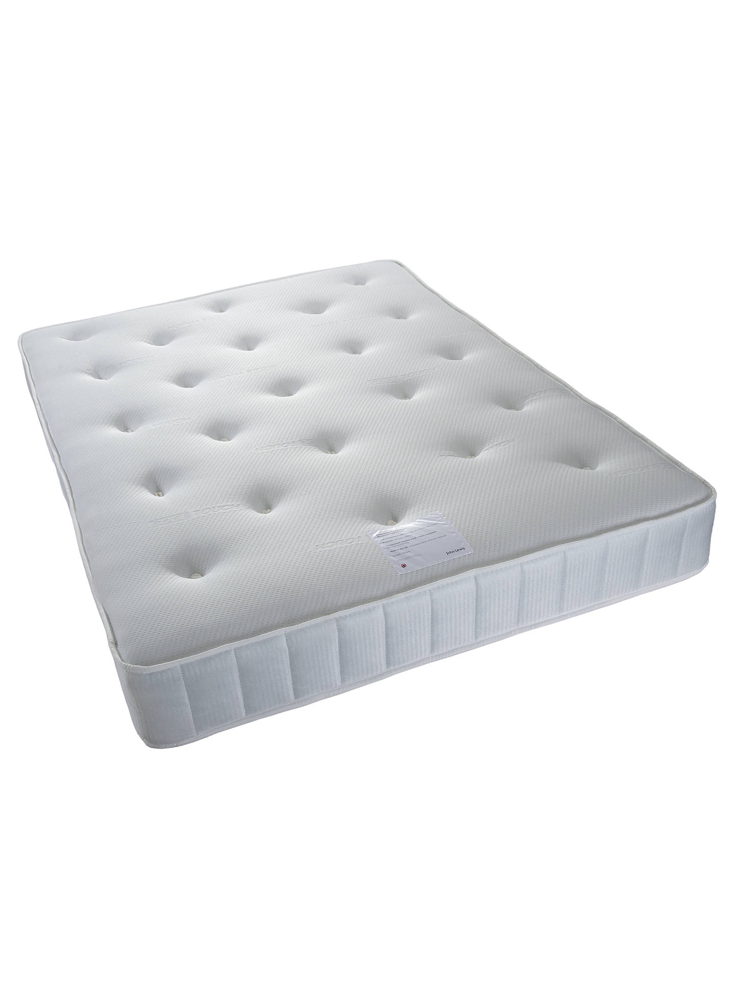Buy John Lewis & Partners Essentials Collection Response 920 Ortho Open Spring Mattress, Firm, King Size Online at johnlewis.com