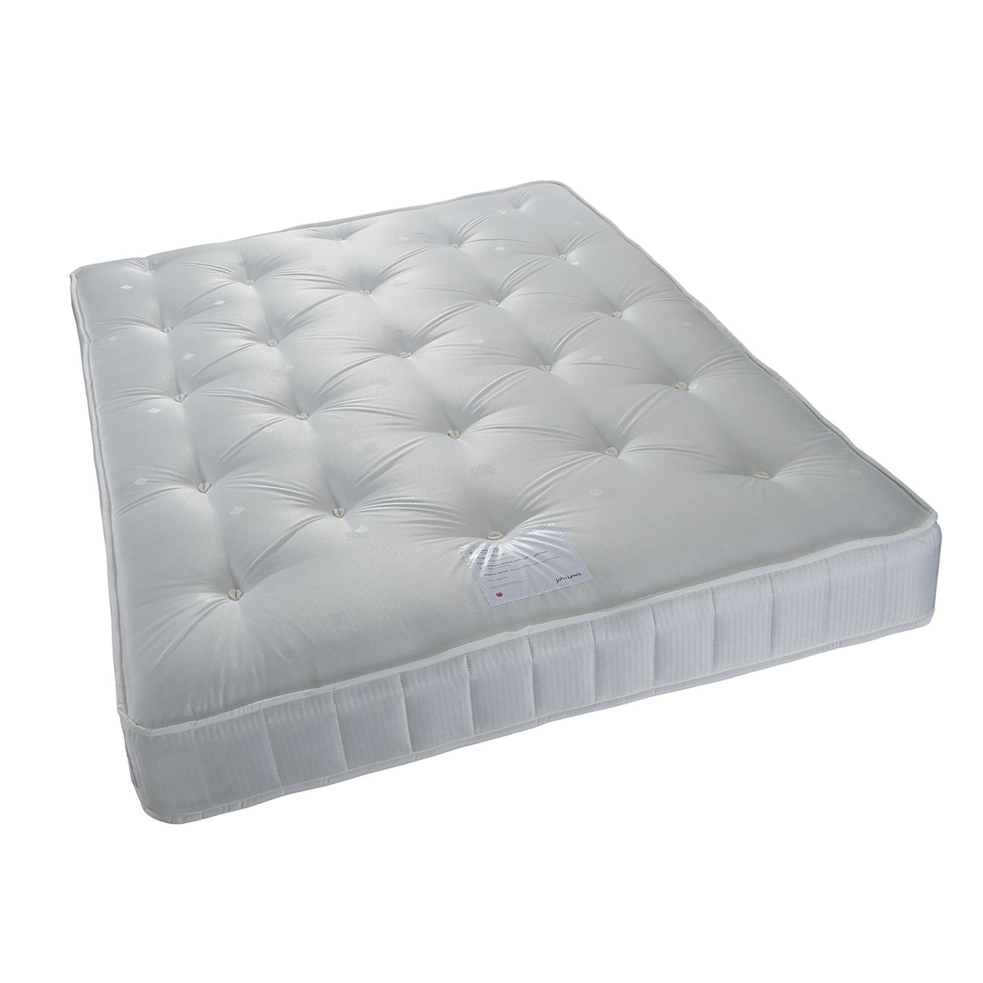 John Lewis Essentials Collection Cosy Comfort 325 Open Spring Mattress Medium Double Online