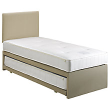 Buy John Lewis Savoy Two Open Spring Trundle Guest Bed, Small Single Online at johnlewis.com