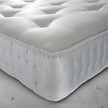 Buy John Lewis Essentials Collection 1200 Wool Comfort Pocket Spring Mattress, Medium, Small Double Online at johnlewis.com