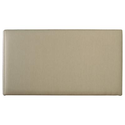 John Lewis Savoy Guest Bed Headboard, Canvas Pebble, Single