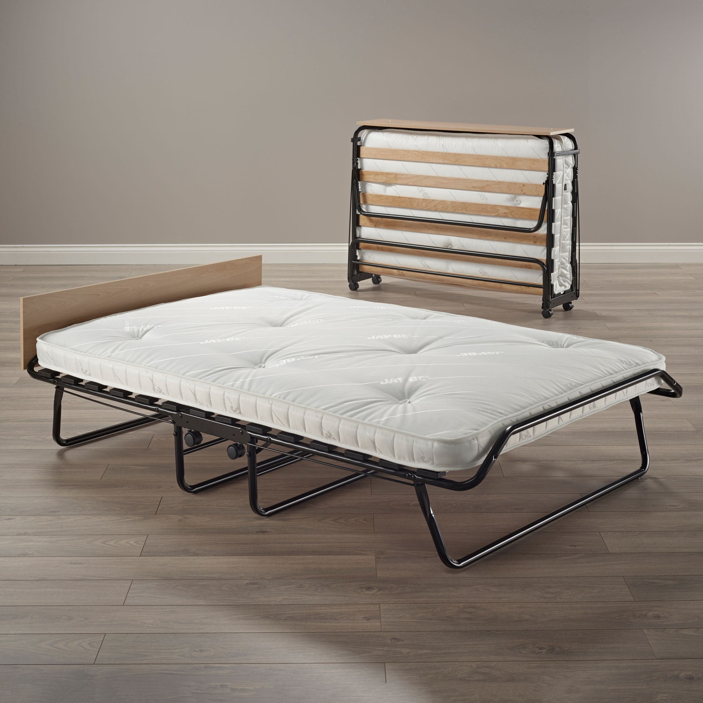 - JAY-BE Mayfair Folding Bed With Pocket Sprung Mattress, Small