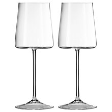 Buy Vera Wang for Wedgwood Metropolitan Wine Glass, Set of 2 Online at johnlewis.com