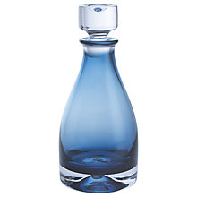 Buy Dartington Crystal Dimple 50th Ink Blue Decanter Online at johnlewis.com