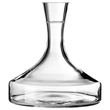Buy Wedgwood by Vera Wang Vera Bande Wine Decanter Online at johnlewis.com