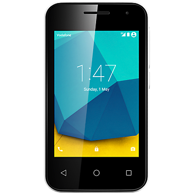 Vodafone Smart First 7 Smartphone, Android, 3.5, Pay As You Go (£10 Top Up Included), 4GB