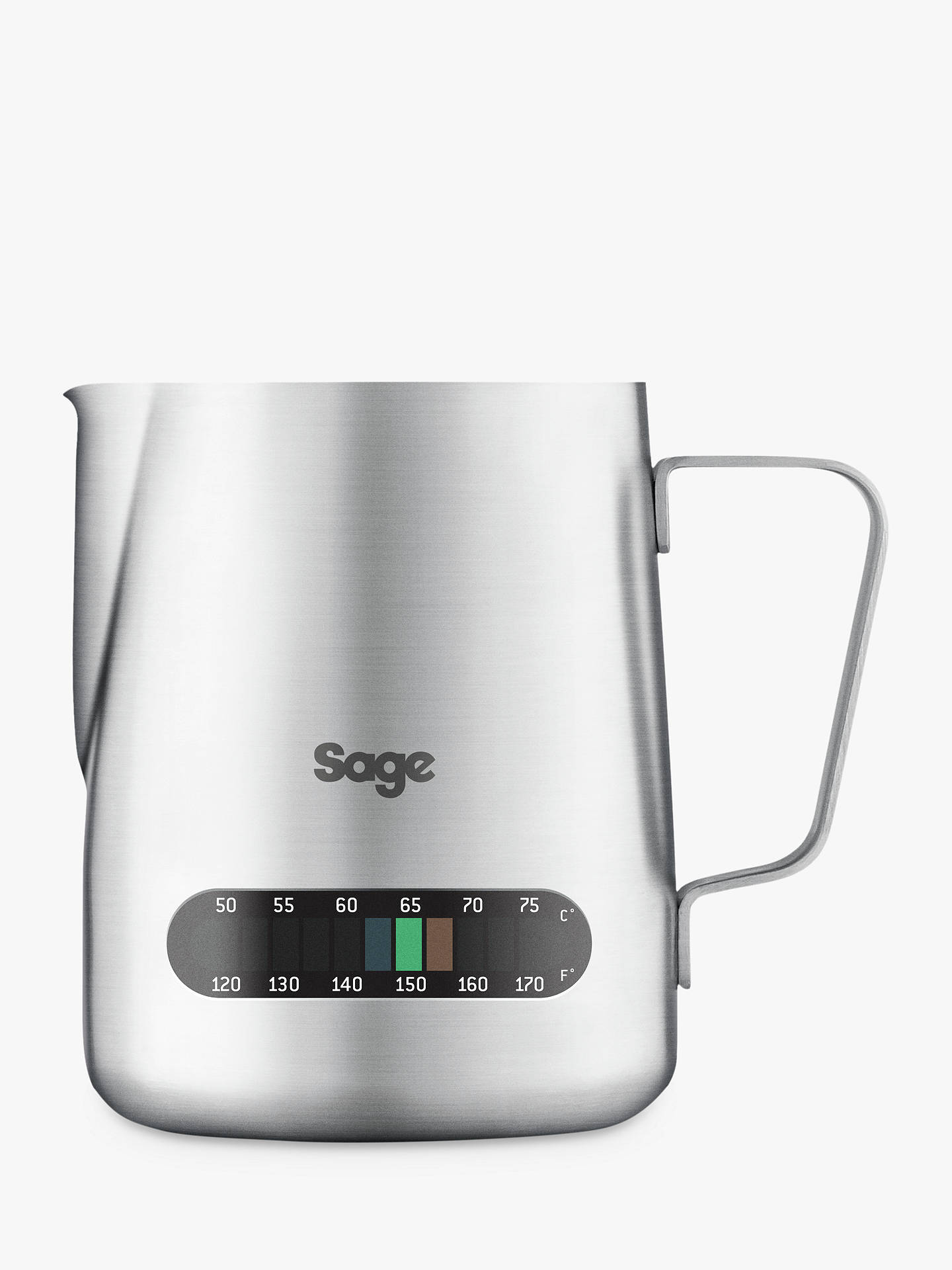 Buy Sage BES003UK The Temp Control Milk Jug Online at johnlewis.com
