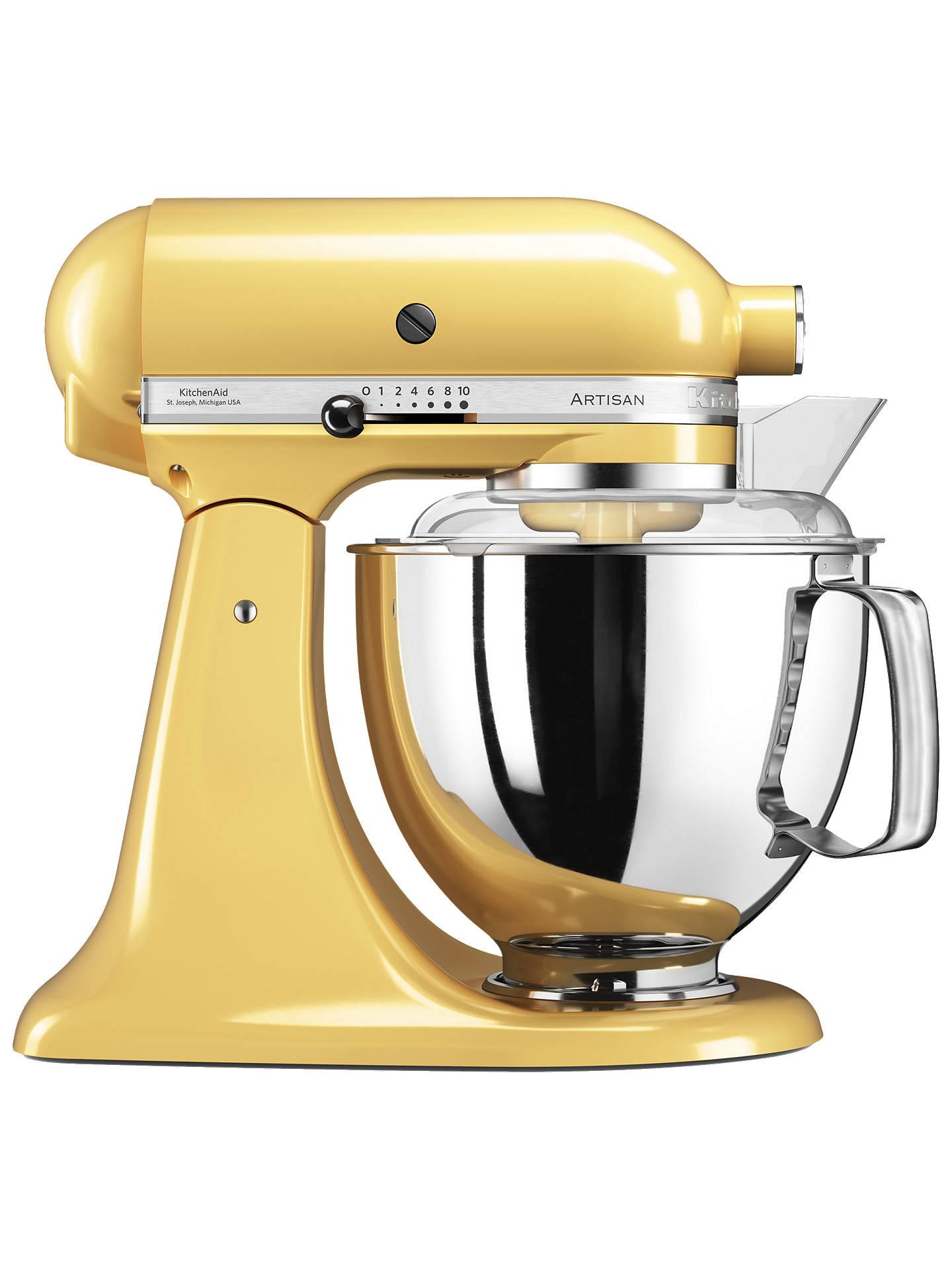 Kitchen Aid 175 Artisan 4.8 L Stand Mixer, Majestic Yellow by Kitchenaid