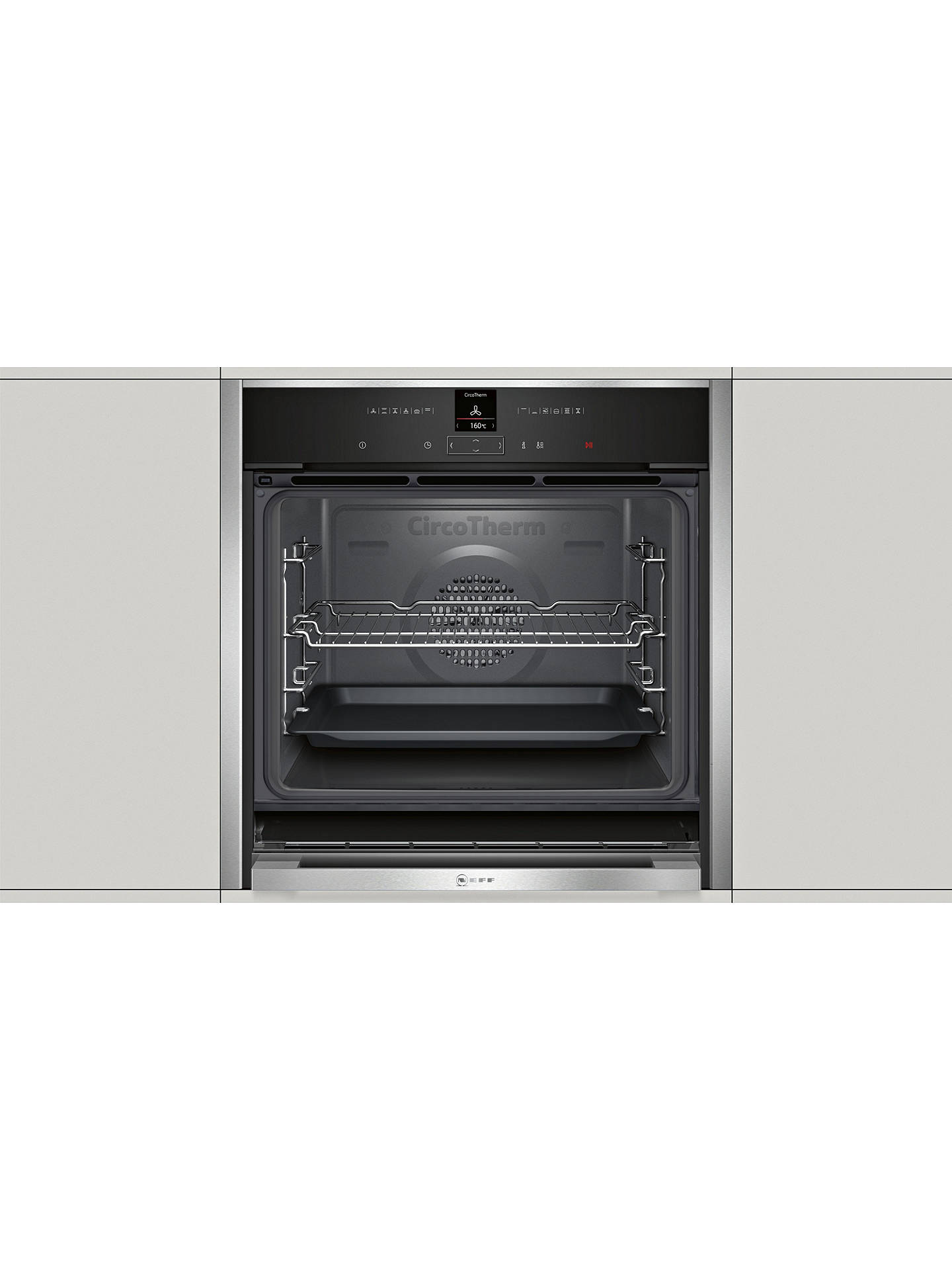 how to clean neff slide and hide oven