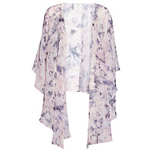Buy Gina Bacconi Soft Watercolour Shawl, Nude Online at johnlewis.com