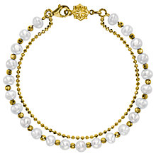 Buy Dower & Hall Orissa Freshwater Pearl Bracelet Online at johnlewis.com