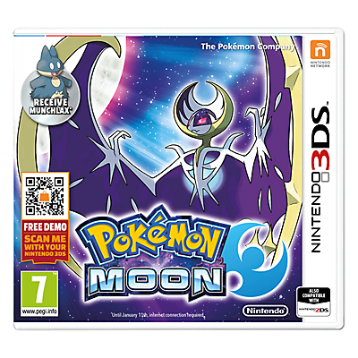 Pokemon Moon, Nintendo 3DS