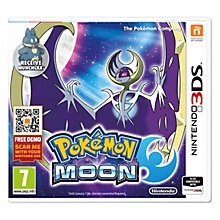 Buy Pokemon Moon, Nintendo 3DS Online at johnlewis.com