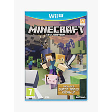 Buy Minecraft, Nintendo Wii U Online at johnlewis.com