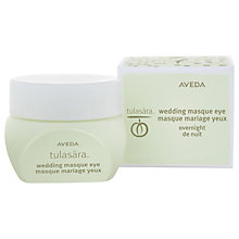 Buy AVEDA Tulasara Wedding Eye Masque, 15ml Online at johnlewis.com