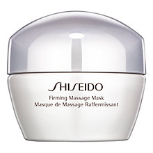 Buy Shiseido Firming Massage Mask, 50ml Online at johnlewis.com