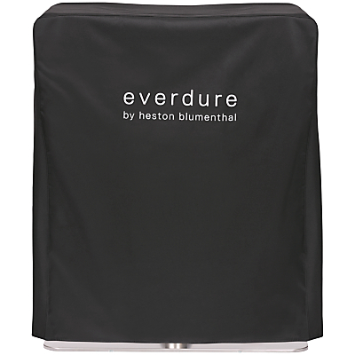 everdure by heston blumenthal FUSION™ Electric Ignition Charcoal BBQ Cover, Black