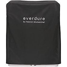 Buy everdure by heston blumenthal FUSION™ Electric Ignition Charcoal BBQ With Pedestal Cover, Black Online at johnlewis.com