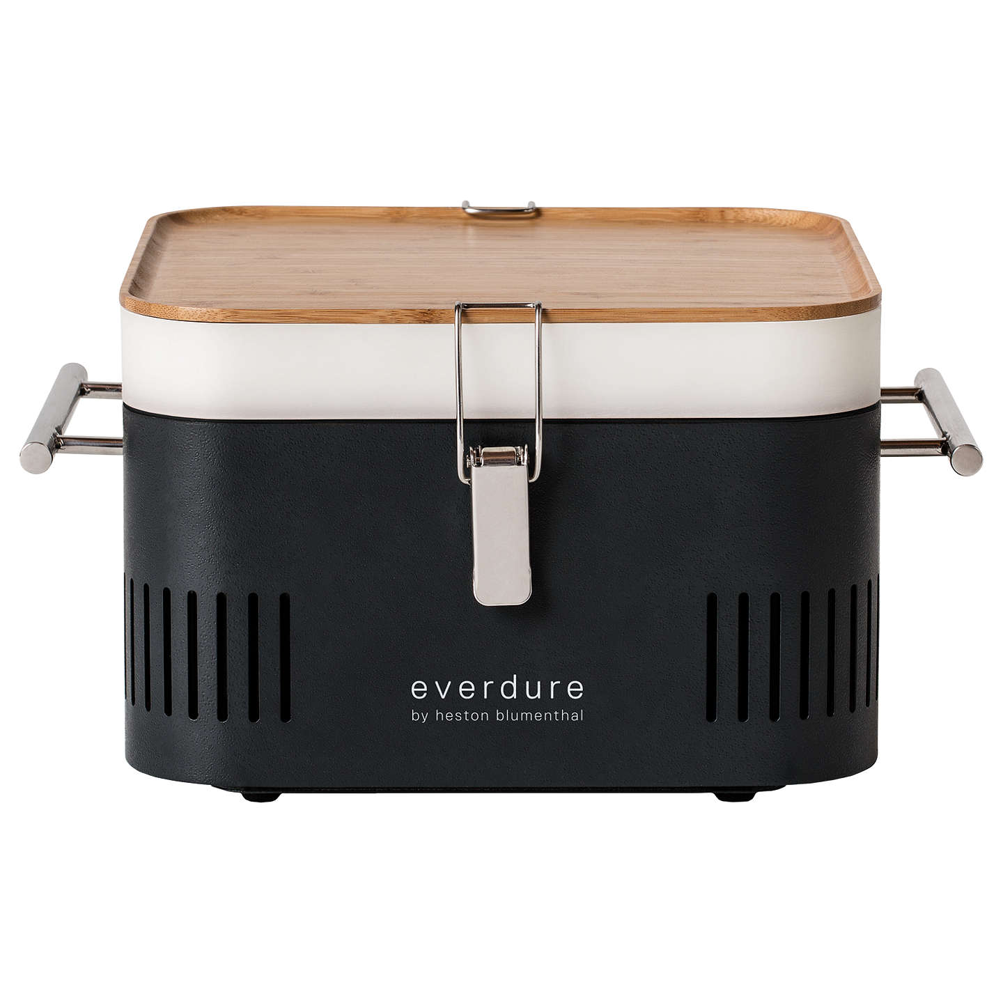 Buyeverdure by heston blumenthal CUBE Portable Charcoal BBQ, Graphite Online at johnlewis.com