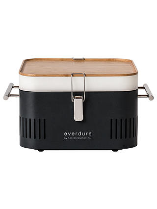 Buy everdure by heston blumenthal CUBE Portable Charcoal BBQ, Graphite Online at johnlewis.com