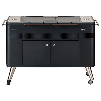 everdure by heston blumenthal HUB™ Electric Ignition Charcoal BBQ, Graphite