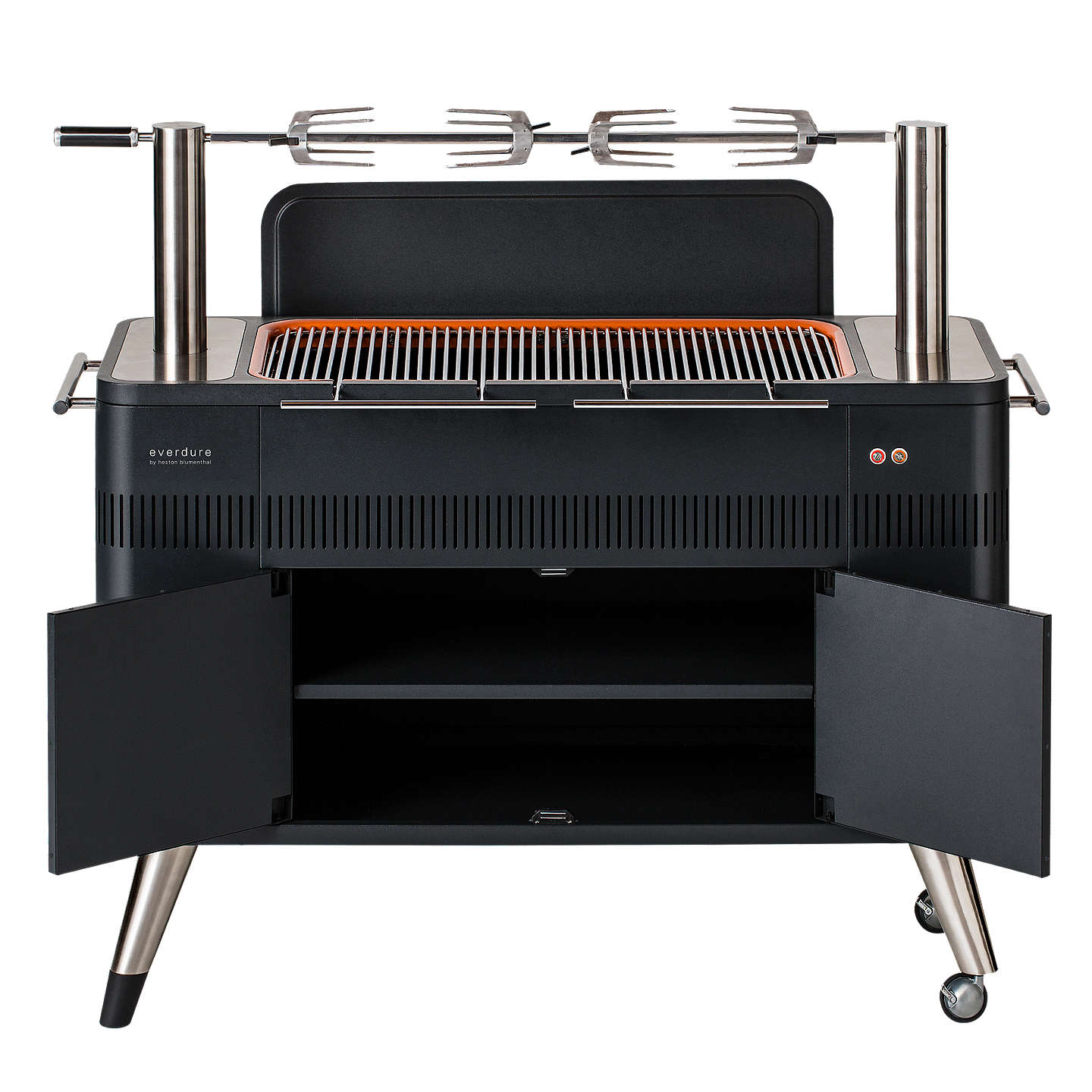 Buyeverdure by heston blumenthal HUB Electric Ignition Charcoal BBQ, Graphite Online at johnlewis.com