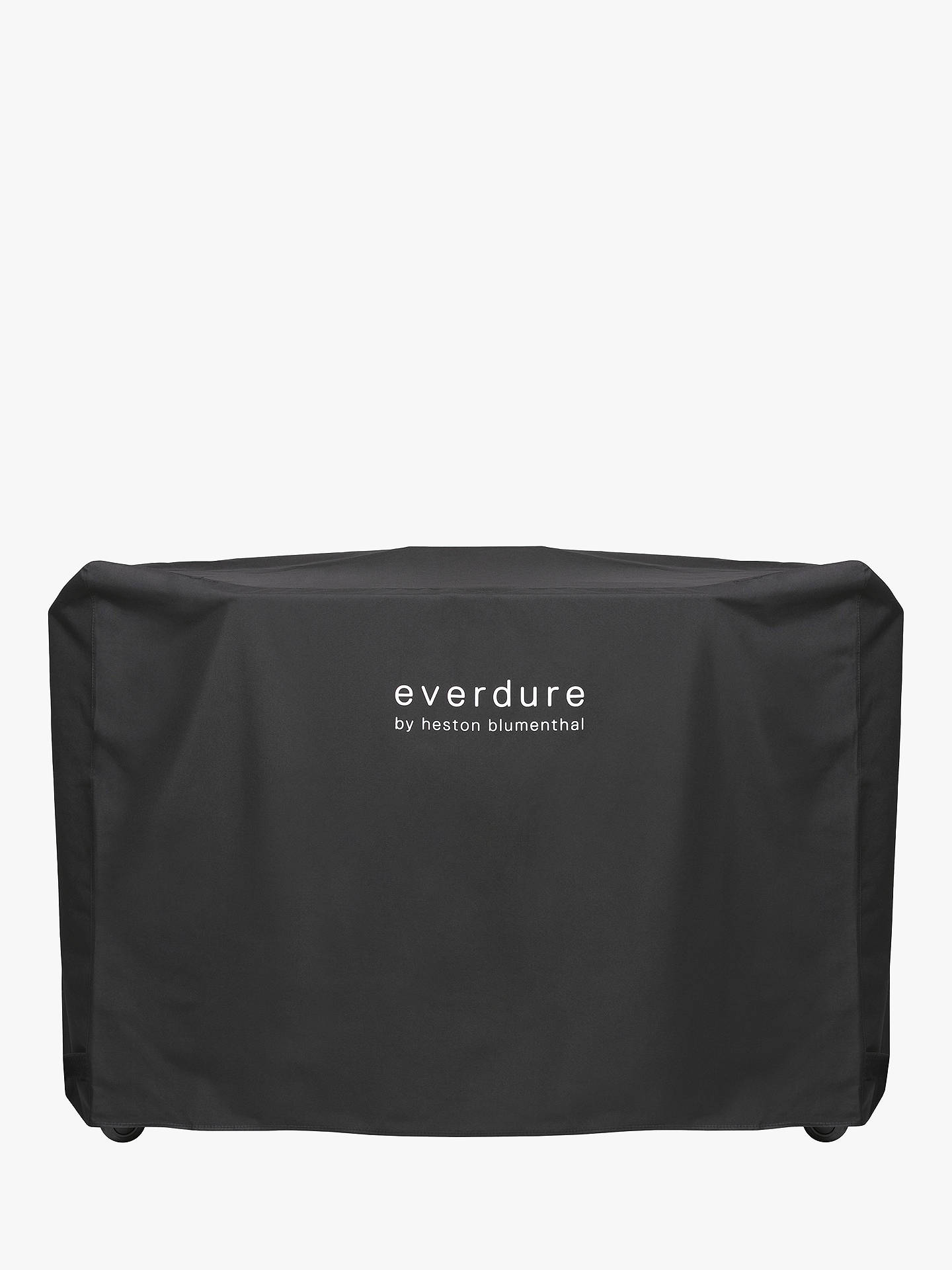 Everdure By Heston Blumenthal Hub Electric Ignition Charcoal Bbq Cover Graphite Online At