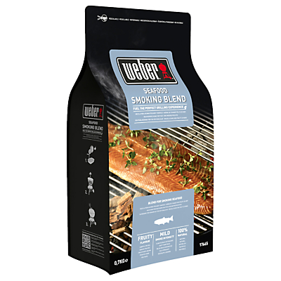 Weber® Seafood Wood Chips, 0.7kg Review thumbnail